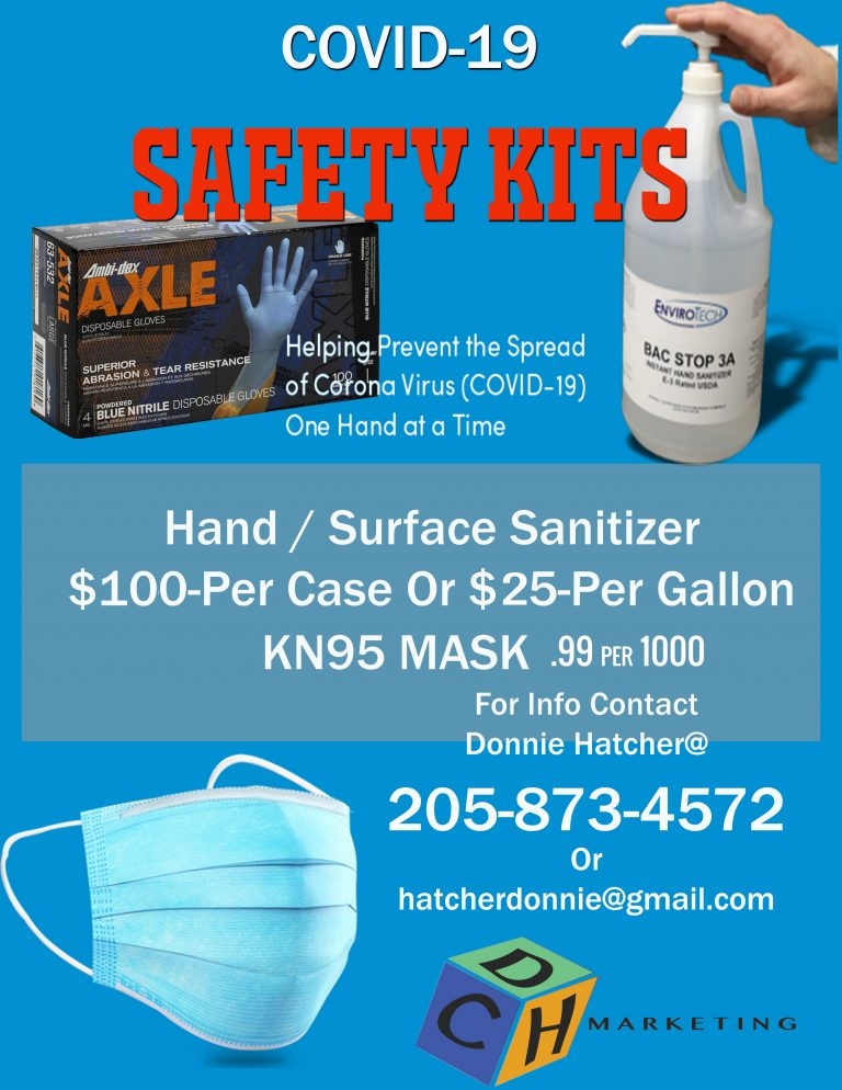 COVID-19 SAFETY KITS FOR SALE
