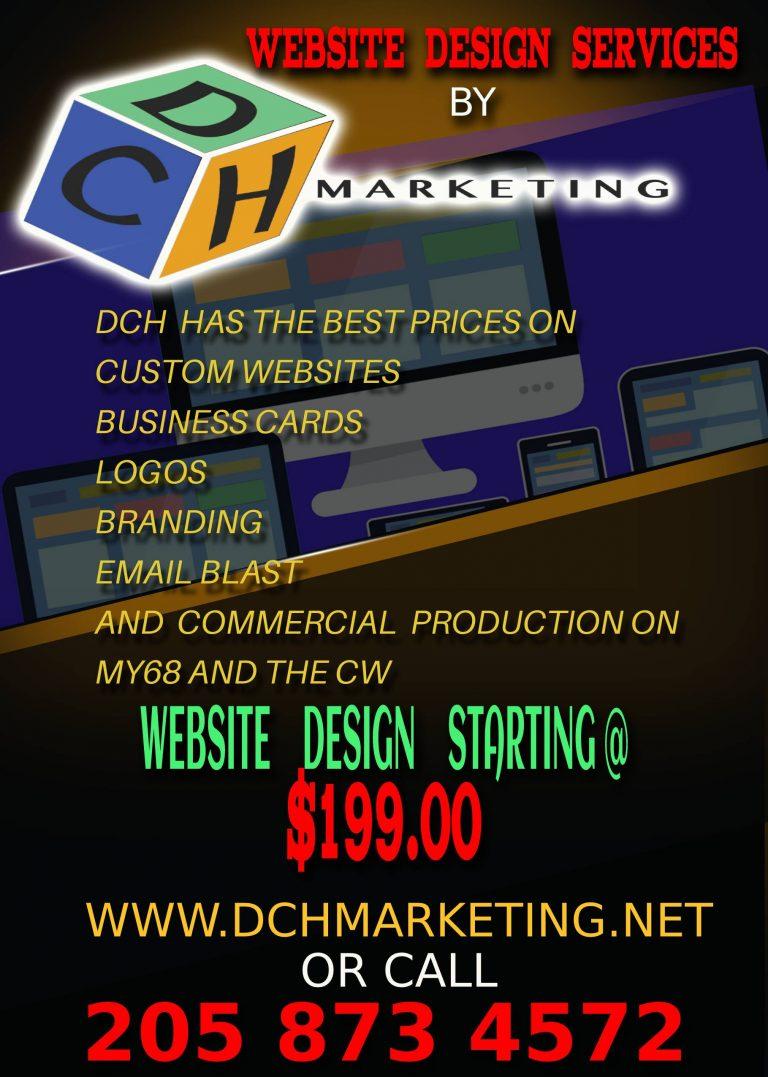 WEBSITE DESIGN SERVICES STARTING AT $199