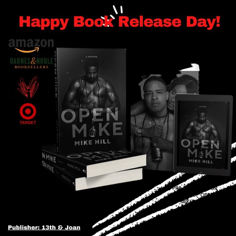 MIKE HILL BOOK RELEASE